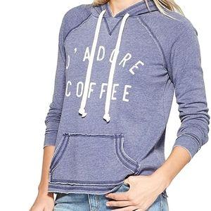 B2G1 NWT Grayson Threads J'adore Coffee Hoodie